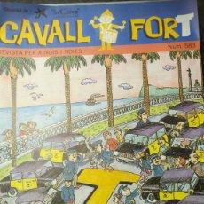 Cómics: CAVALL FORT Nº. 583. REVISTA PER A NOIS I NOIES. EDITORA SANTA MARIA. Lote 224685056