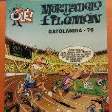 Comics: MORTADELO Y FILEMÓN. GATOLANDIA-76. Nº11. OLÉ. Lote 231326335