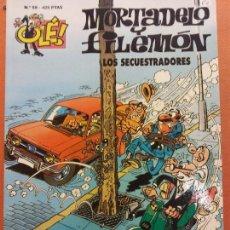 Comics: MORTADELO Y FILEMÓN. LOS SECUESTRADORES. Nº59. OLÉ. Lote 231327360