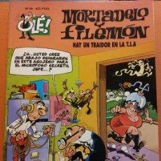 Comics: MORTADELO Y FILEMÓN. HAY UN TRAIDOR EN LA T.I.A.. Nº89. OLÉ. Lote 231327575