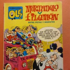 Comics : MORTADELO Y FILEMÓN. ENTRE PISTAS Y DESPISTES. EDITORIAL BRUGUERA. Lote 231329725