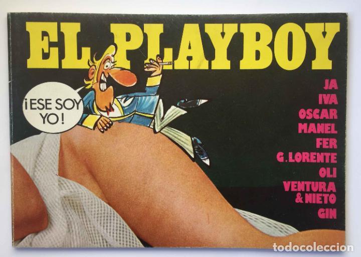 CÓMIC EL PLAYBOY (ED. AMAIKA, 1976). ÓSCAR, FER, VENTURA & NIETO, MANEL... ORIGINAL ¡COLECCIONISTA! (Tebeos y Comics - Comics Extras)