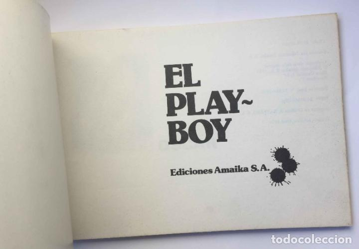 Cómics: Cómic EL PLAYBOY (Ed. Amaika, 1976). Óscar, Fer, Ventura & Nieto, Manel... Original ¡Coleccionista! - Foto 3 - 39725622
