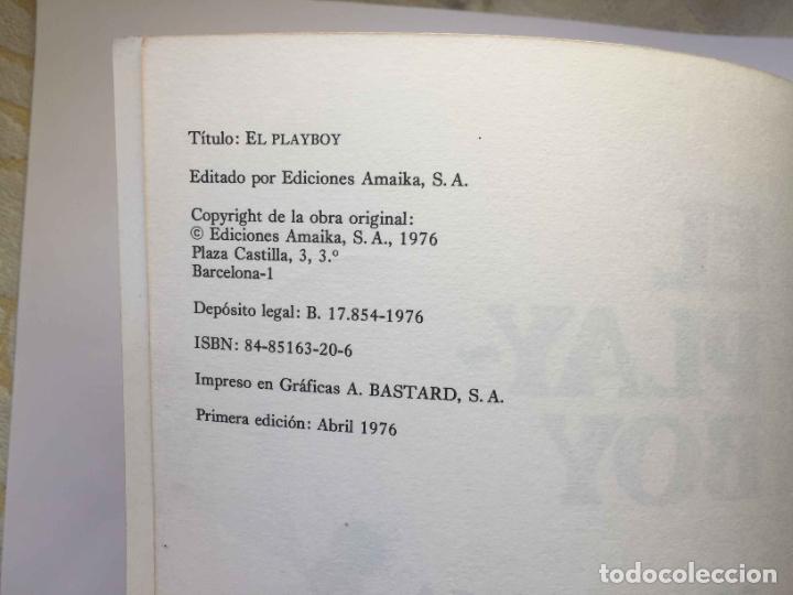 Cómics: Cómic EL PLAYBOY (Ed. Amaika, 1976). Óscar, Fer, Ventura & Nieto, Manel... Original ¡Coleccionista! - Foto 4 - 39725622