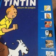 Cómics: TINTÍN: ÁLBUM DE JUEGOS. Lote 233528365