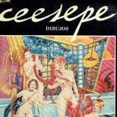 Cómics: LIBRO DIBUJOS CEESEPE EL VIBORA 1982 @ MOVIDA / IMPECABLE ANTOLOGIA DE SU OBRA / COMO NUEVO. Lote 236359405