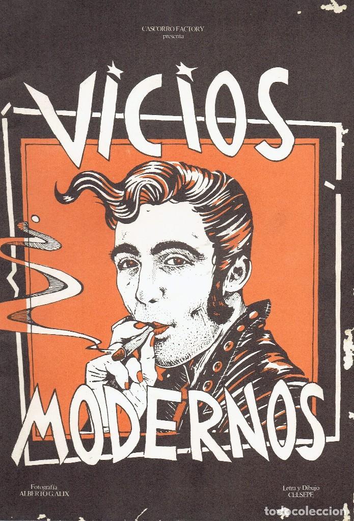 CEESEPE VICIOS MODERNOS CASCORRO / LA BANDA DE MOEBIUS 1ª EDICION 1979 @ MUY BUEN ESTADO (Tebeos y Comics - Comics Extras)