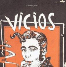 Cómics: CEESEPE VICIOS MODERNOS CASCORRO / LA BANDA DE MOEBIUS 1ª EDICION 1979 @ MUY BUEN ESTADO. Lote 236360800
