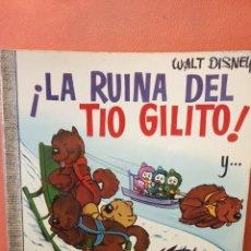 Comics: ¡LA RUINA DEL TIO GILITO!. WALT DISNEY. EDICIONES RECREATIVAS, S.A.. Lote 239366290