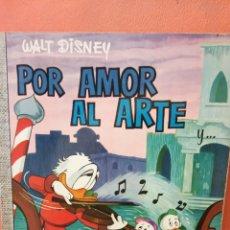Comics: POR AMOR AL ARTE. WALT DISNEY. EDICIONES RECREATIVAS, S.A.. Lote 239366435