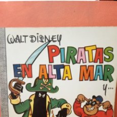Comics : PIRATAS EN ALTA MAR. WALT DISNEY. EDICIONES RECREATIVAS, S.A.. Lote 239366650