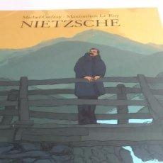 Cómics: NIETZSCHE. MICHEL ONFRAY. MAXIMILIEN LE ROY. EDITORIAL KNAUS. EN ALEMÁN. 2011. Lote 240636945