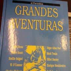 Cómics: GRANDES AVENTURAS. TOMO 2. EL PERIÓDICO. EDICIONES PRIMERA PLANA. Lote 252948255