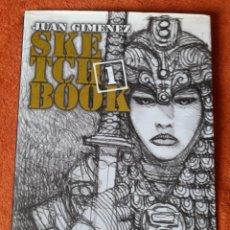Comics : JUAN GIMENEZ LOPEZ SKETCHBOOK 1 2005. Lote 254016100