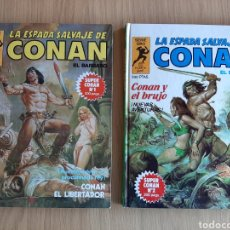 Cómics: SUPER CONAN. SERIE ORO. 1 Y 2. Lote 254972470