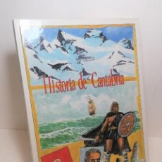 Cómics: COMIC HISTORIA DE CANTABRIA GOBIERNO DE CANTABRIA. Lote 254981250