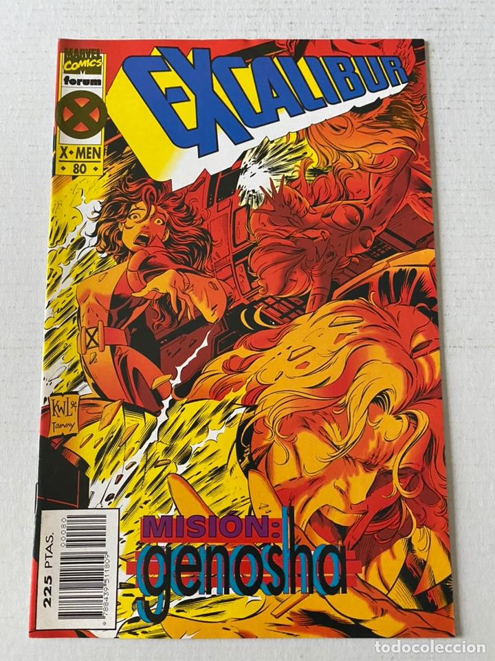 EXCALIBUR #80 VOL1 FORUM ÚLTIMO COMIC DE LA COLECCIÓN EN MUY BUEN ESTADO (Tebeos y Comics - Comics Extras)