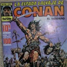 Cómics: CONAN LA ESPADA SALVAJE ÁLBUN ESPECIAL 10º ANIVERSARIO. Lote 262024555