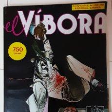 Cómics: EL VÍBORA. NUMEROS 48 Y 49. ESPECIAL CRIMEN.. Lote 262247370