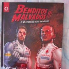 Cómics: BENDITOS MALVADOS - TAPA DURA. Lote 263908075