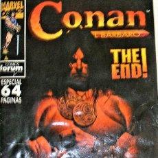Cómics: CONAN EL BÁRBARO THE END. Lote 264144272
