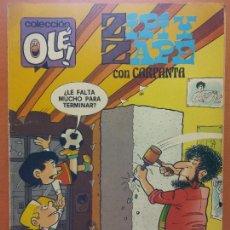 Comics: ZIPI Y ZAPE CON CARPANTA. Nº 196-Z64. EDICIONES B. Lote 266747133