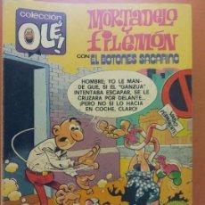 Comics: MORTADELO Y FILEMÓN CON EL BOTONES SACARINO. Nº202. EDITORIAL BRUGUERA. Lote 267000879
