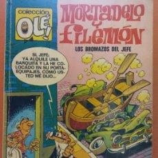 Comics: MORTADELO Y FILEMÓN LOS BROMAZOS DEL JEFE. Nº112. EDITORIAL BRUGUERA. Lote 267001019