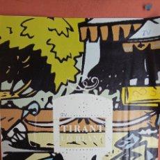 Cómics: TIRANT LO BLANC. QUATRE. EL TEMPS EDICIONS DEL PAÍS.. Lote 267149059