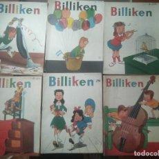 Cómics: LOTE 6 COMICS BILLIKEN ARGENTINA. Lote 269372543