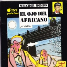 """Cómics: """"MELCHOR MOMBO, EL OJO DEL AFRICANO"""" DE JORDI PEIDRO - GRAFICAS CIUDAD 1992 ALCOY - MUY ESCASO.. Lote 272981928"""