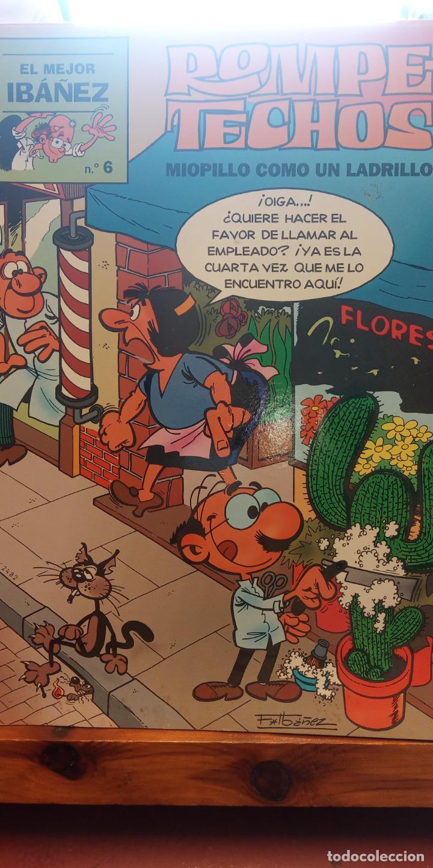 ROMPE TECHOS. MIOPILLO COMO UN LADRILLO. Nº6. EL MEJOR IBAÑEZ (Tebeos y Comics - Comics Extras)
