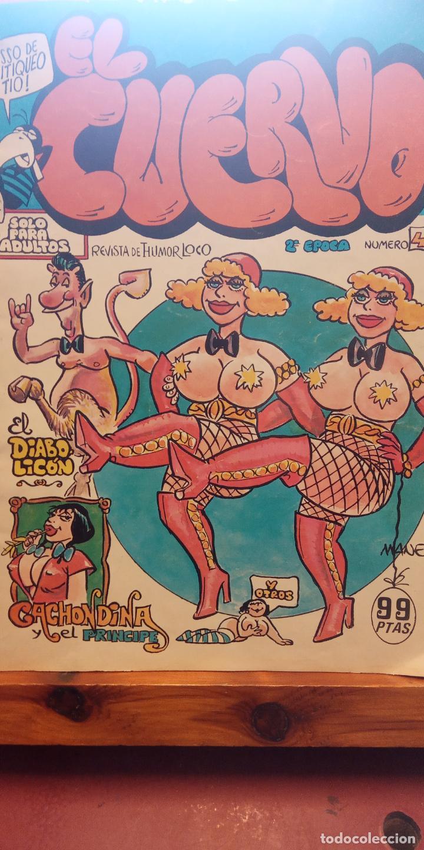 EL CUERVO. NÚMERO 4. EDICIONES AMAIKA (Tebeos y Comics - Comics Extras)