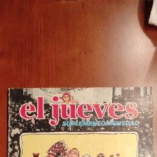 Cómics: REVISTA EL JUEVES ANTOLOGÍA DEL CHISTE POPULAR 1979. Lote 289894633