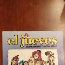 """Cómics: REVISTA EL JUEVES HISTERIAS INDECENTES DE LA TELE """"TELEBODRIOS/FILMS PALIZAS""""1979. Lote 289896118"""