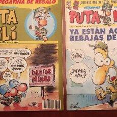 Cómics: REVISTA EL JUEVES PUTA MILI 1993-1995. Lote 289901033
