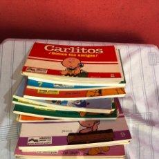 Cómics: LOTE DE 16 NÚMEROS DE CÓMICS CARLITOS Y GARFIELD EDICIONES JUNIOR 1981 . EXCELENTE ESTADO. VER FOTO. Lote 291996268
