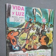 Cómics: VIDA Y LUZ N° 37 1969 (CARPELUS).. Lote 293817963