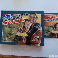 Cómics: 2055 RECORDANDO LAS AVENTURAS DE DIEGO VALOR + CD. EN EL CD VIENEN LOS CAPITULOS 1 ,4 ,71,111 Y135. Lote 294563093