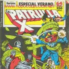 Cómics: PATRULLA X ESPECIAL VERANO 89. Lote 20955054