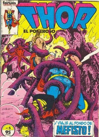 THOR EL PODEROSO - Nº 5 - 1ª EDICION (Tebeos y Comics - Forum - Thor)