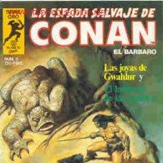 Fumetti: CONAN. LA ESPADA SALVAJE (1ª EDICIÓN) Nº 9. Lote 20004797