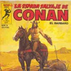 Fumetti: CONAN. LA ESPADA SALVAJE (1ª EDICIÓN) Nº 16. Lote 20004808