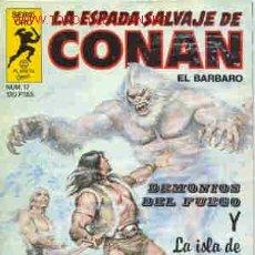 Fumetti: CONAN. LA ESPADA SALVAJE (1ª EDICIÓN) Nº 17. Lote 20004814