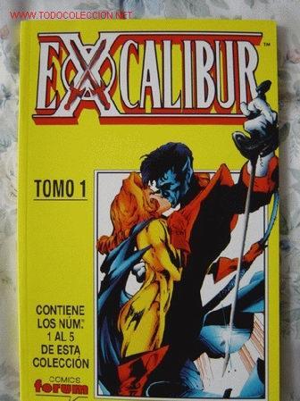 TOMO RECOPILATORIO 1: EXCALIBUR. LOS 5 PRIMEROS NUMEROS. GUION DE WARREN ELLIS.POSIBILIDAD DE LOTES. (Tebeos y Comics - Forum - Retapados)