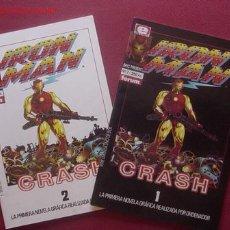 Cómics: IRON MAN. CRASH (FORUM). ¡¡ COMPLETA !!. Lote 25186343
