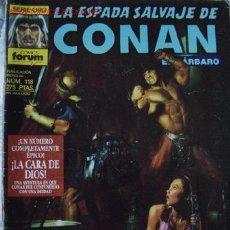 Cómics: LA ESPADA SALVAJE DE CONAN # 118.COMICS FORUM. POSIBILIDAD DE LOTES CON DESCUENTOS.. Lote 26755674