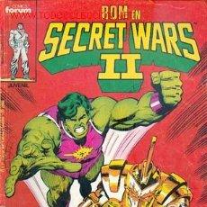 Cómics: SECRET WARS II Nº 27. Lote 25306140