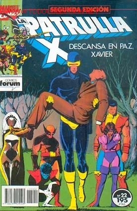 LA PATRULLA X Nº 22 (Tebeos y Comics - Forum - Patrulla X)