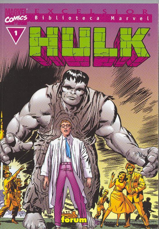 BIBLIOTECA MARVEL . HULK Nº 1 (Tebeos y Comics - Forum - Hulk)